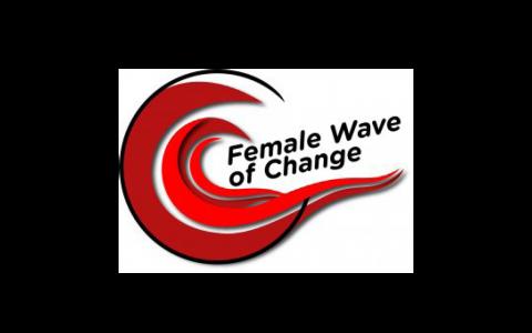 Female Wave of Change Logo